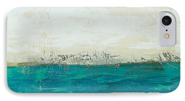 Abstract Seascape 02/14b Phone Case by Filippo B