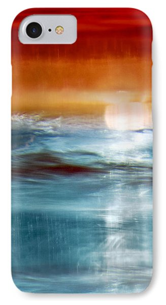 Abstract Seascape Phone Case by Natalie Kinnear