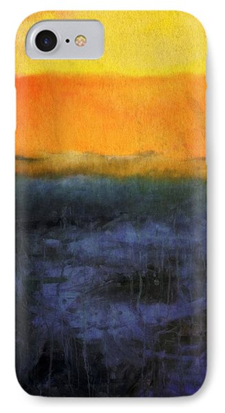 Abstract Shoreline 4.0 IPhone Case by Michelle Calkins