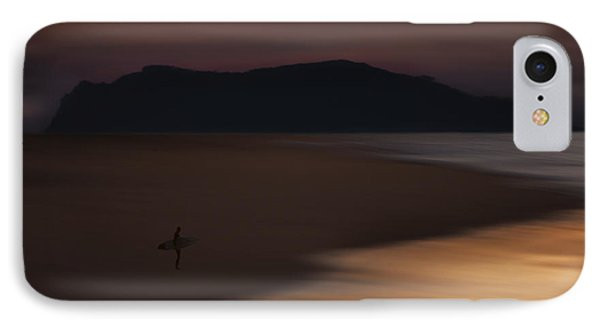 IPhone Case featuring the photograph Abstract Shoreline 73a0160 by David Orias