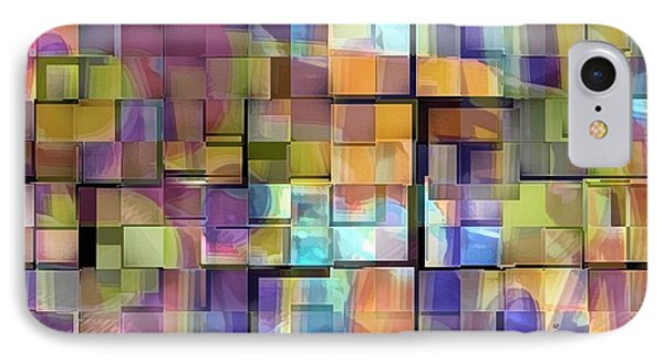 Abstract  Squares IPhone Case