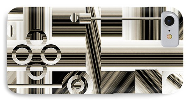 Abstract Station The Road To No Where Phone Case by Andee Design