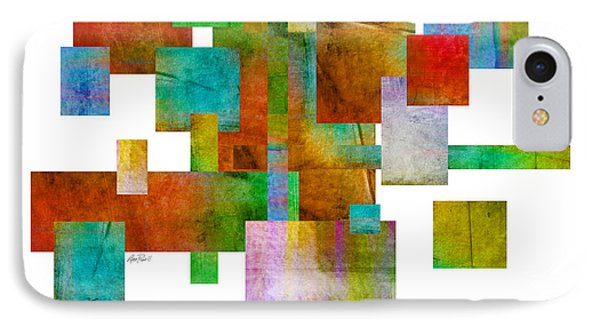 Abstract Study 22 Abstract- Art Phone Case by Ann Powell