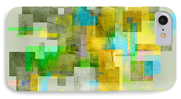 Abstract Study 27 Phone Case by Ann Powell