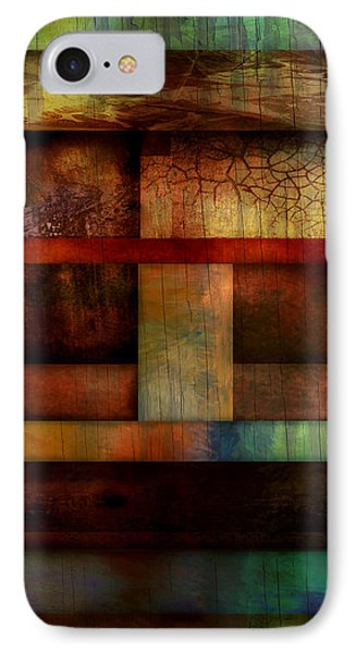 Abstract Study Five  Phone Case by Ann Powell