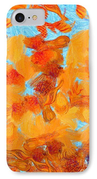 Abstract Summer IPhone Case