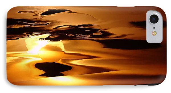 Abstract Sunrise Phone Case by Jeff Swan