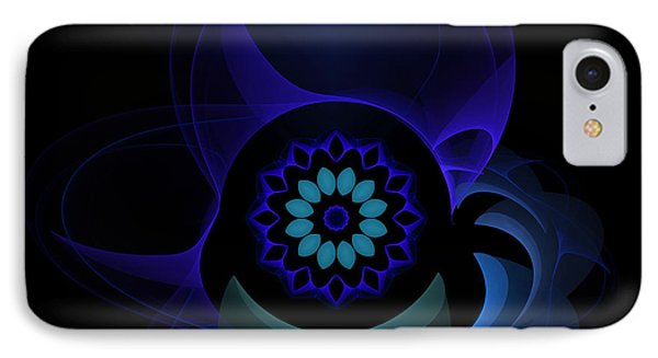 IPhone Case featuring the digital art Abstract Surprise by Hanza Turgul