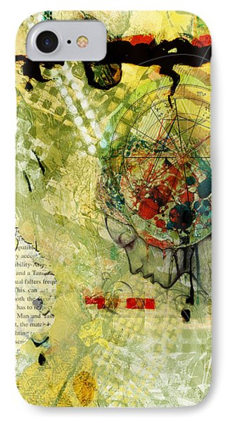 Abstract Tarot Art 009 Phone Case by Corporate Art Task Force
