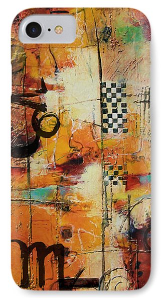 Abstract Tarot Art 010 IPhone Case by Corporate Art Task Force