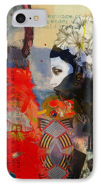 Abstract Tarot Art 011 IPhone Case by Corporate Art Task Force