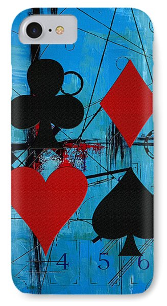 Abstract Tarot Art 012 IPhone Case by Corporate Art Task Force