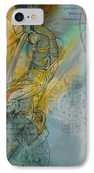 Abstract Tarot Art 015 Phone Case by Corporate Art Task Force
