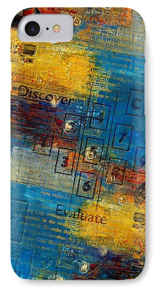 Abstract Tarot Art 016 IPhone Case by Corporate Art Task Force