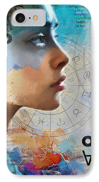 Abstract Tarot Art 019 IPhone Case by Corporate Art Task Force