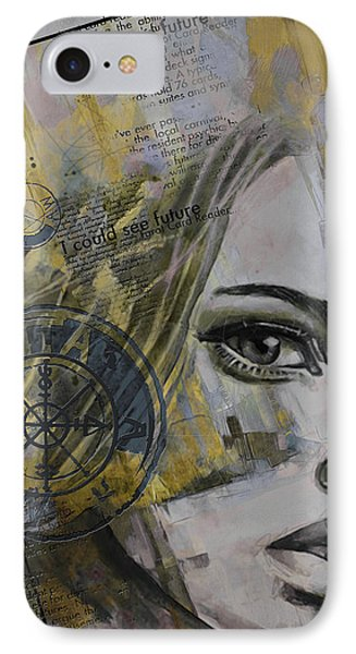 Abstract Tarot Art 022b Phone Case by Corporate Art Task Force