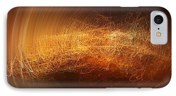 Abstract Time IPhone Case by Vitaliy Gladkiy