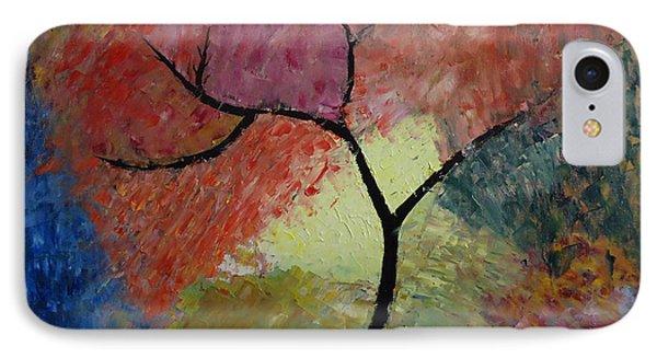 Abstract Tree Phone Case by Jnana Finearts