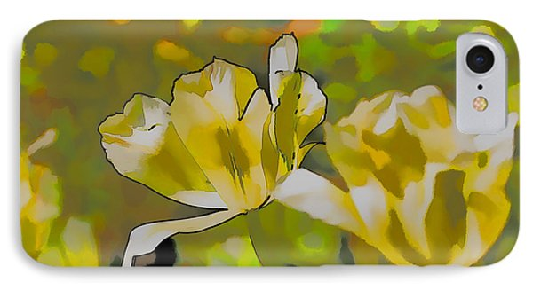 IPhone Case featuring the photograph Abstract Tulip by Leif Sohlman