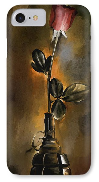 Abstract Vase.  IPhone Case by Andrzej Szczerski