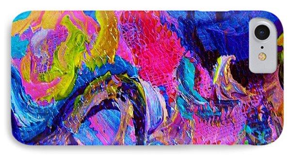 Abstract Viscosity IPhone Case by Eloise Schneider