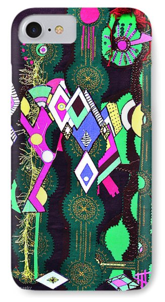 Abstract Warriors Phone Case by Ruth Yvonne Ash