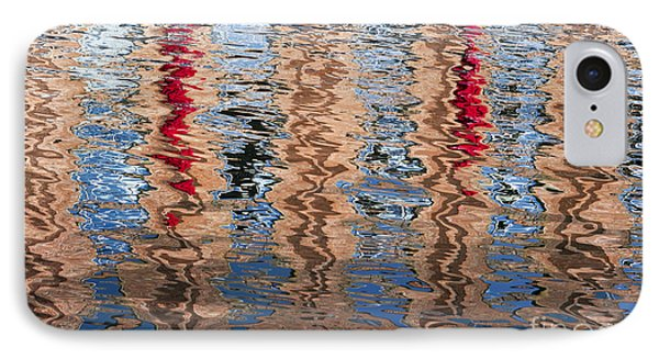 Abstract Water Ripples  Phone Case by Tim Gainey