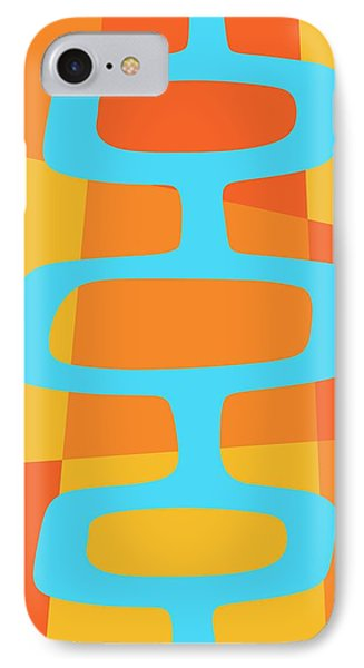 Abstract With Turquoise Pods 3 IPhone Case