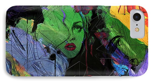 Abstract Women 014 Phone Case by Corporate Art Task Force