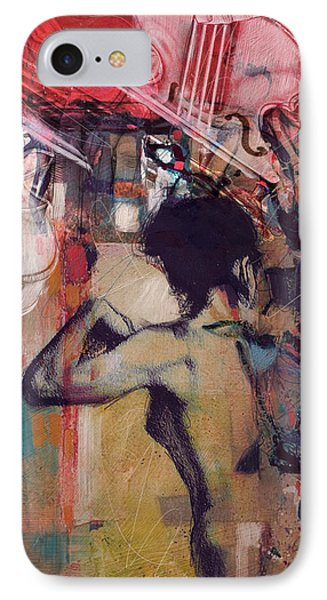 Abstract Women 017 Phone Case by Corporate Art Task Force
