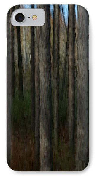 IPhone Case featuring the photograph Abstract Woods by Randy Pollard