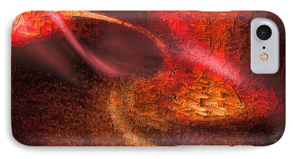 IPhone Case featuring the painting Abstract Xxiv by Tyler Robbins