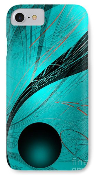 Abstract170-2014 IPhone Case by John Krakora