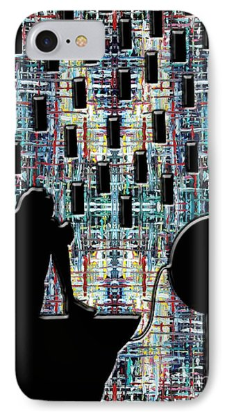 Abstraction 104 Phone Case by Patrick J Murphy