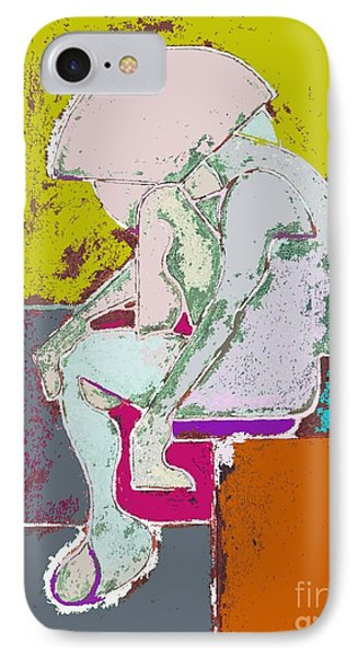 Abstraction 113 Phone Case by Patrick J Murphy