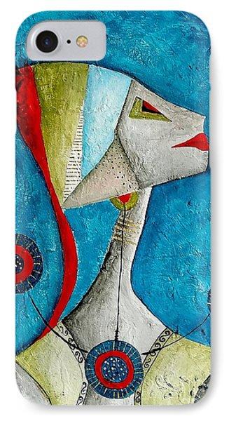Abstraction 698 -marucii Phone Case by Marek Lutek