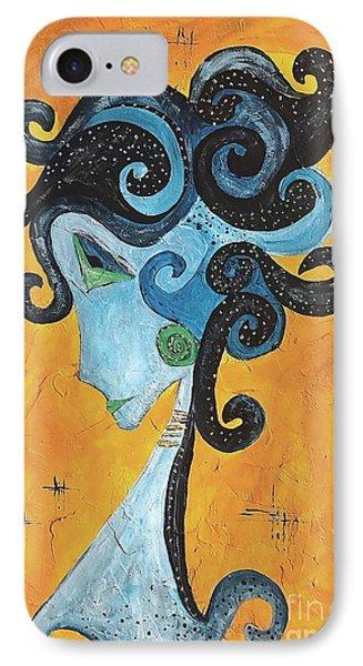 Abstraction 699 -marucii Phone Case by Marek Lutek