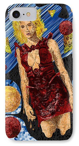 Abstraction De Richters Numero Deux Phone Case by Kenal Louis