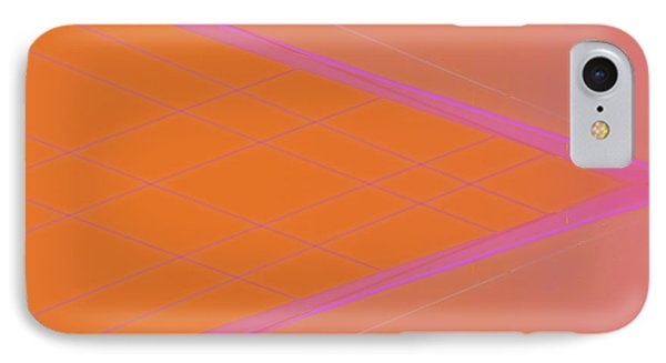 Abstraction In Pink Number 3 IPhone Case