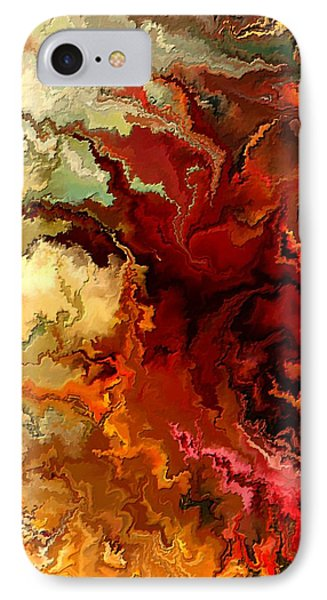 Abstraction Surrealist By Rafi Talby Phone Case by Rafi Talby
