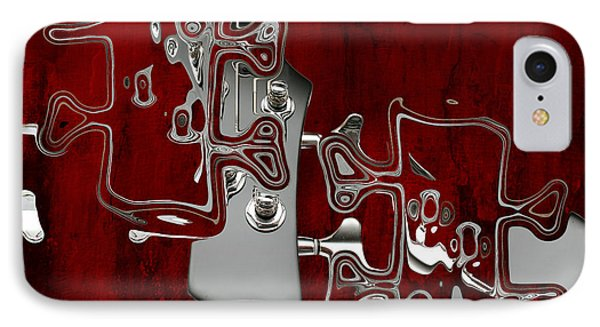 Abstrait En Do Majeur - S02t02a IPhone Case by Variance Collections