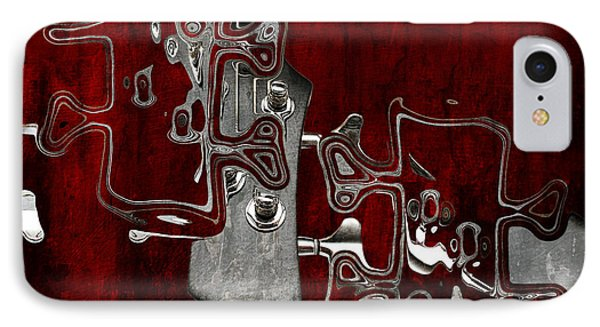 Abstrait En Do Majeur - S02t02b IPhone Case by Variance Collections