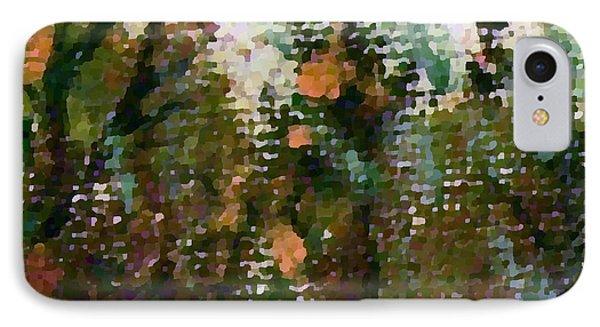 Abstrakt In Grun IPhone Case