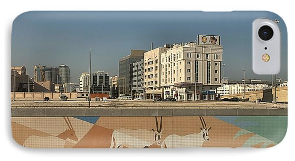IPhone Case featuring the photograph Abu Dhabi Outskirts by Steven Richman