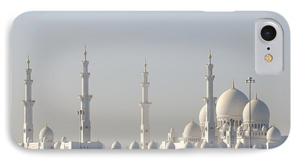 IPhone Case featuring the photograph Abu Dhabi Sheikh Zayed Grand Mosque by Steven Richman