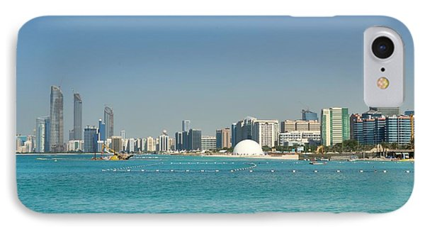 IPhone Case featuring the photograph Abu Dhabi Skyline by Steven Richman