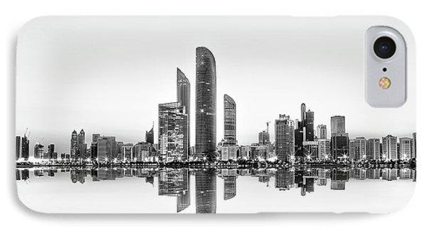 Abu Dhabi Urban Reflection IPhone Case