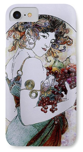 Abundance After Mucha IPhone Case