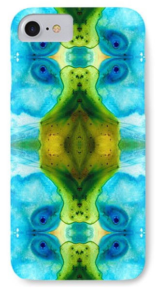 Abundant Life - Pattern Art By Sharon Cummings IPhone Case by Sharon Cummings
