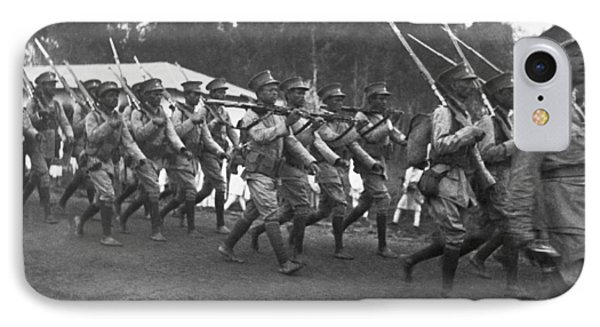 Abyssinian Troops Marching IPhone Case
